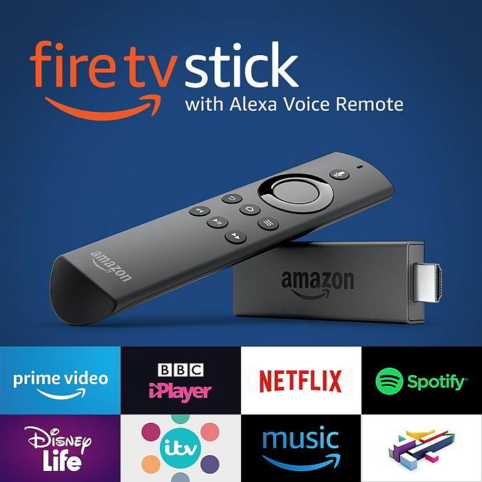 Amazon Fire app install on smart tv JVC Sony Netflix