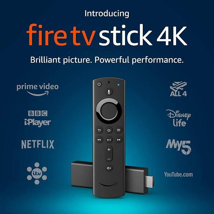 Amazon Fire stick 4k tv video streaming