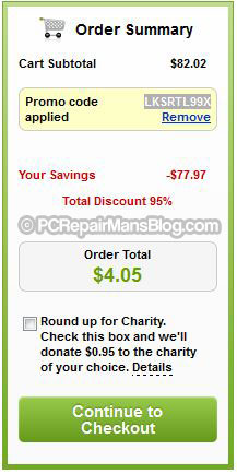 Godaddy 99 cent domains coupon deal