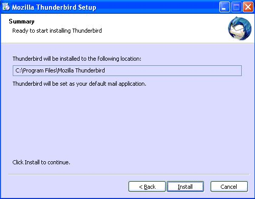 Thunderbird reinstall after crash